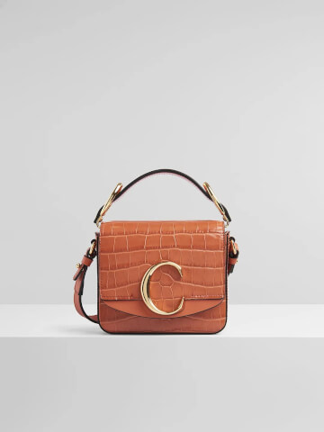 chloe CHLOÉ C MINI BAG