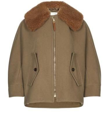 chloe Short coat