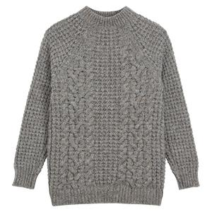 Turnbull & Asser Merino Knitted Raglan Sleeve Crewneck Jumper