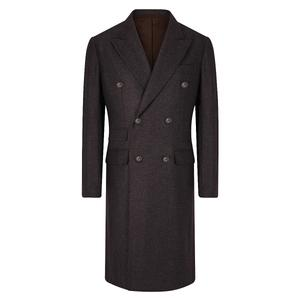 De Petrillo Double Breasted Grey Reale Coat