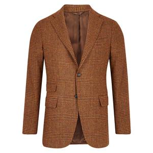 Gaiola Cocoa Brown Wool Jacket