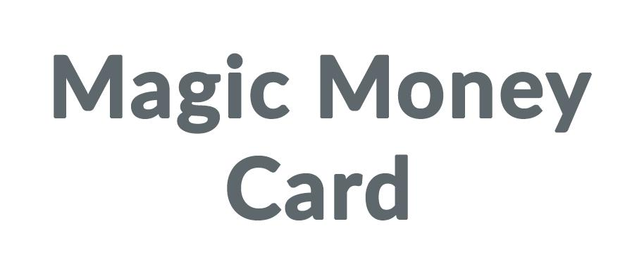 Magic Money Card Discounts