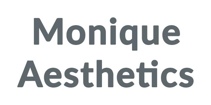Monique Aesthetics Discounts