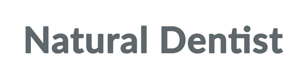 Natural Dentist Discounts