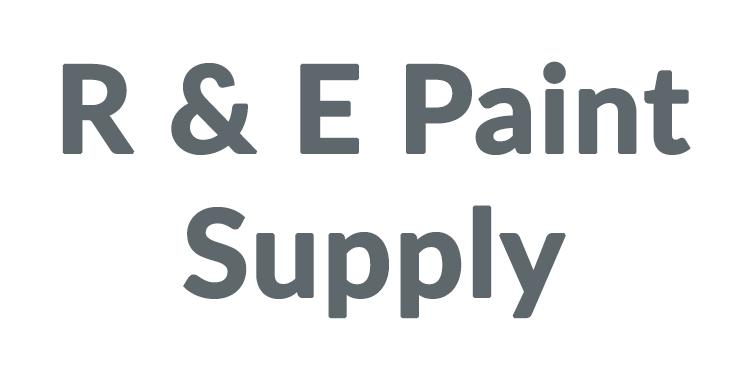 R & E Paint Supply Discounts