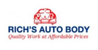 Rich's Auto Body Discounts